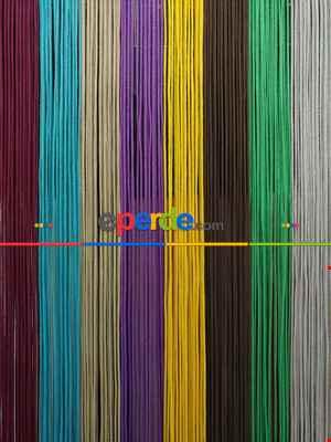 Gri Rengi İp Perde Kalın Zincir Serisi- Gri-füme-antrasit