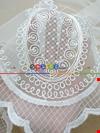 Nakışlı Damask Desen Tül Perde