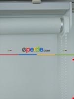 Yıkanabilir Pvc Simli Lüx Stor Perde - Koyu Krem 1. Kalite- Krem Koyu Beyaz