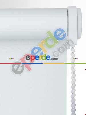 Beyaz Karartma Stor Perde (ışık Geçirmeyen) Blackout- Beyaz