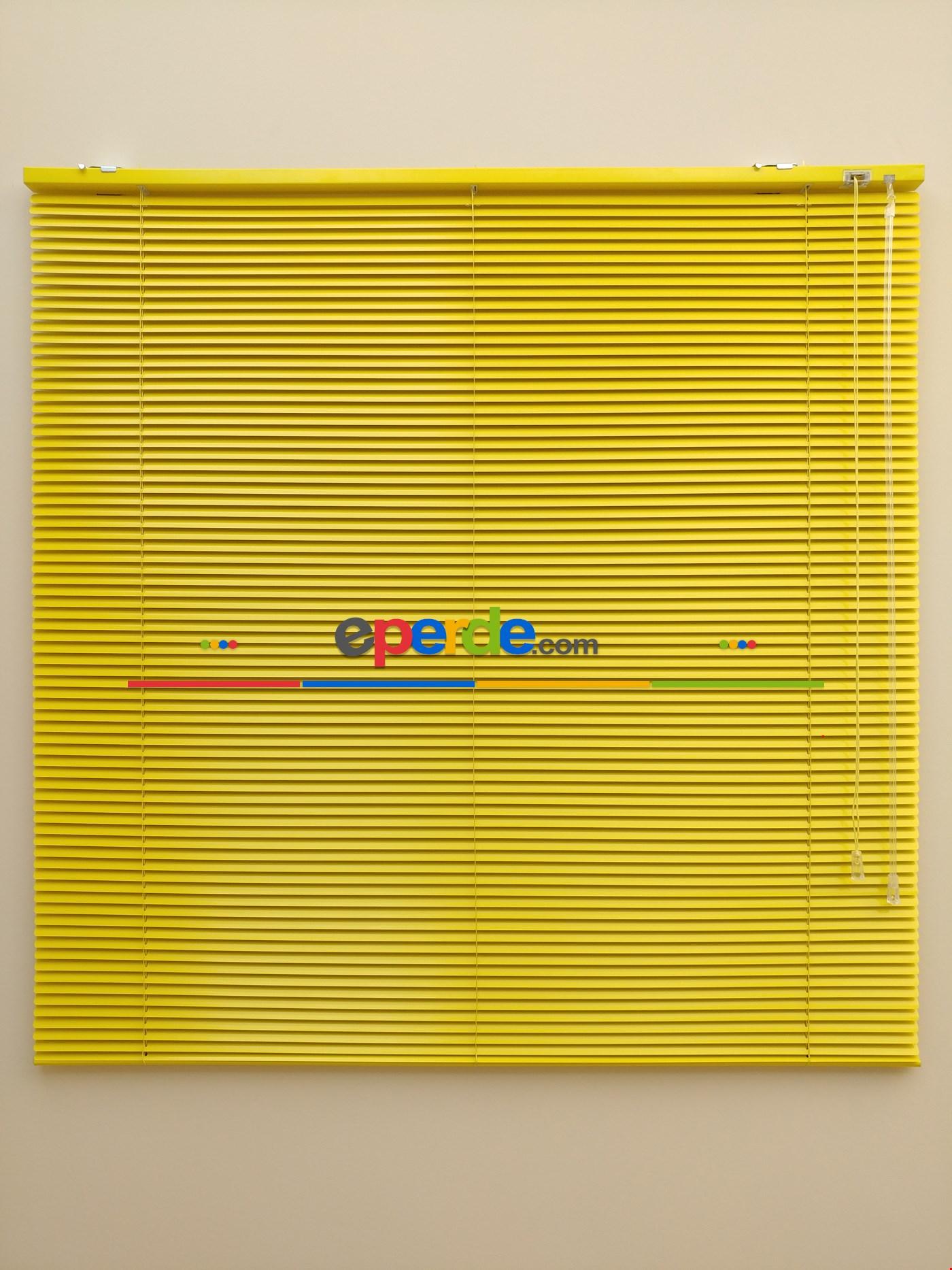 Sarı - Alüminyum Jaluzi Perde - 16mm