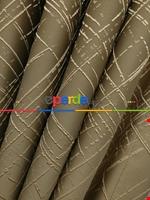 Jakar Desenli Fon Perde- Hardal Sarısı-petrol Mavisi Kahverengi - Altın