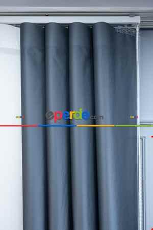 Lens Akıllı Dikey Tül Perde Bulut-15- Çok Renkli 2