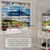 Balon Vektör Özel Poster Baskılı Zebra Perde