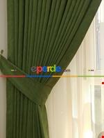 Gri Koyu Düz Fon Perde Koyu Gri Dökümlü Birinci Kalite 300 Cm Geniş En Daha Hesaplı Yeşil