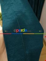 Soft İndigo Fon Perde (180)- Mavi Diğer