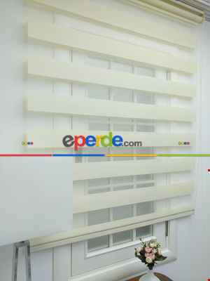 #üreticifirma %50 Indirimli !!! Sarı Renk Ucuz Zebra Perde Ozel Fiyat Ekonomik Zebra Perde- Sarı