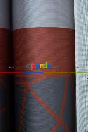 Lens Akıllı Dikey Tül Perde Koza-31- Çok Renkli 2