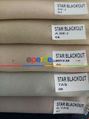 Salon Fon - Karartma Blackout Perde Karartma Güneşlik Perde Blackoutperde-  Çok Renkli 3