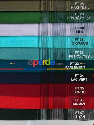 1. Kalite Çizgili Tül Dikey Zebra Perde - Ft-35 Bordo , Ft-09 Elegans , Ft-16 Hardal , Ft-02 Ekru- Bordo-ekru-açık Vizon-hardal