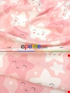 Gülen Yıldızlar Kız Bebek & Çocuk Odası Fon Perde Modelleri