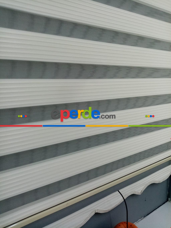 Salon Zebra - Pliseli Zebra Perde 2021 Sezonu A Kalite Pliseli Krem Renk Zebraperde- Krem Açık