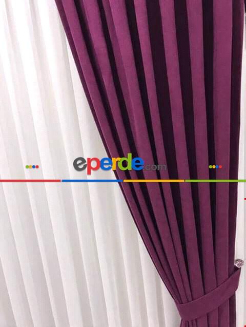 Rengarenk Düz Fon Perde 45 Farklı Renk 1. Kalite Gramajlı