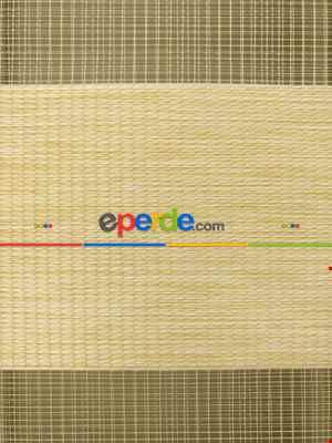 Salon Zebra Perde - Zebra Perde - Caprice Bej-mor-eflatun Renk Bambu (geçiş Zeminli)- Bej