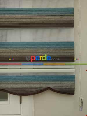 Zebra Perde - Plise Dokuma - 4 Farklı Renk Seçeneği