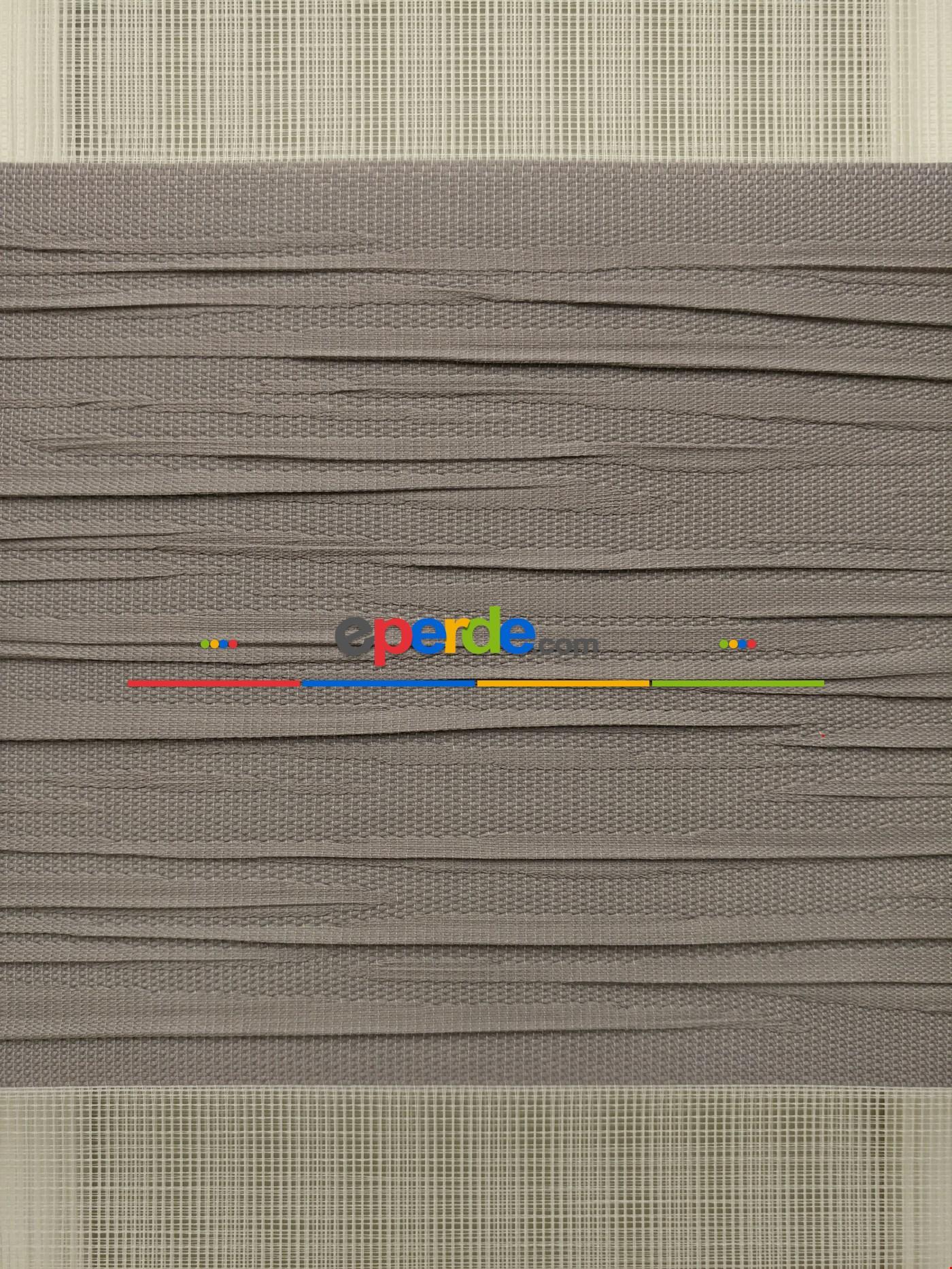 Zebra Perde - Mallorca A.vizon Renk Kırık Plise (yeni Sezon)