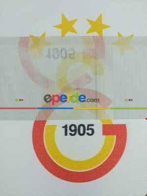 Gs Galatasaray Zebra Perde- Kırmızı-sarı