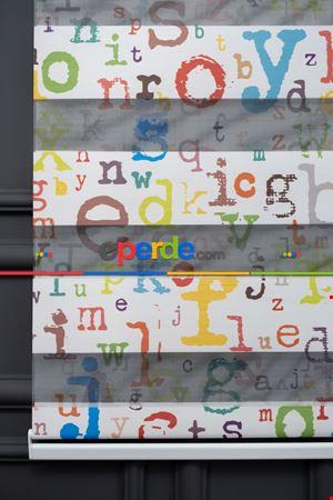 Trend Bebek - Çocuk - Genç Odası Zebra Perde Modelleri 2021- Mavi-Kiremit Rengi-Hardal-Turkuaz Yeşili Ara Renk-Fıstık Yeşili