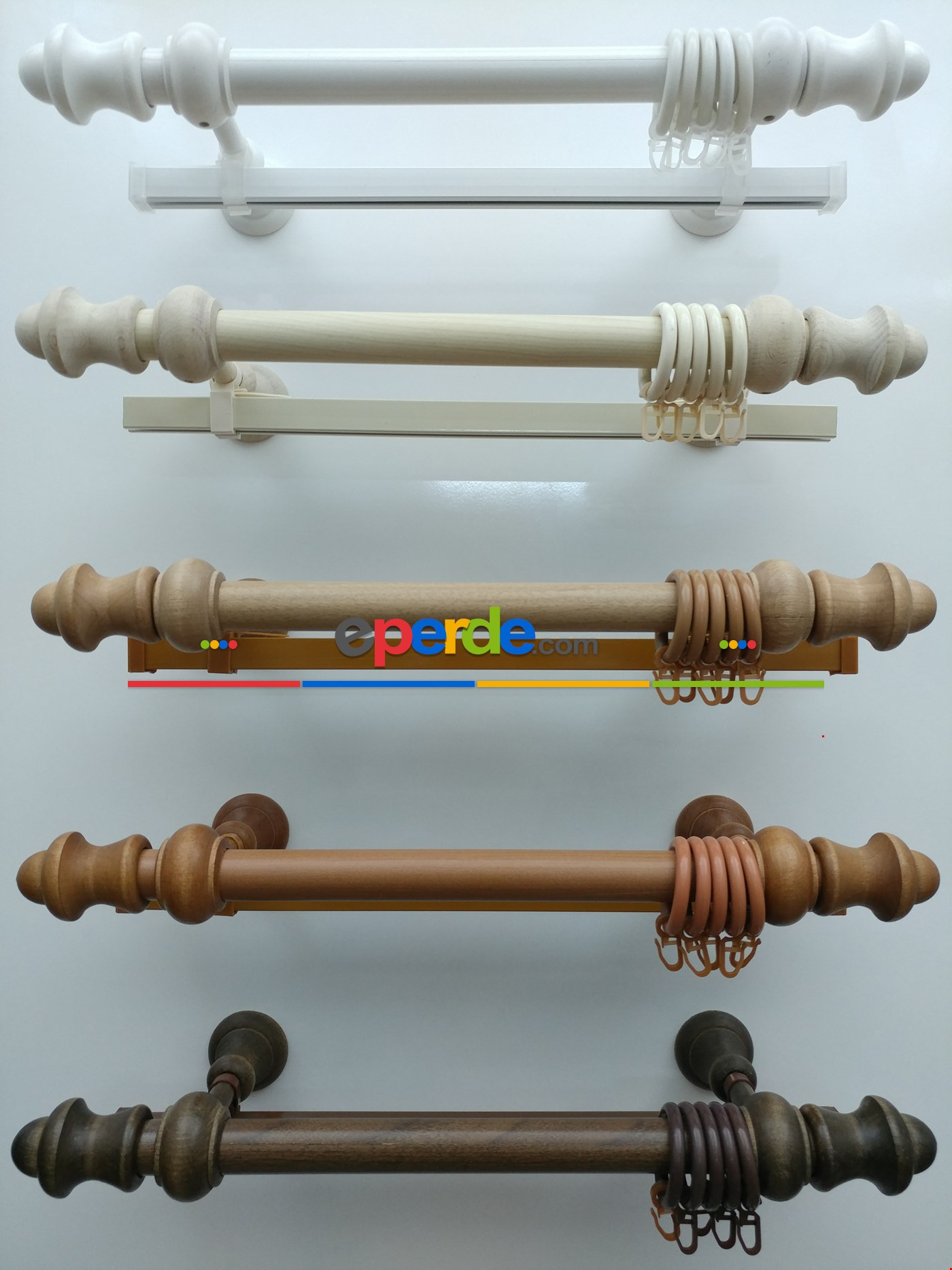 Rustik Perdelik - Venge 100cm X 5cm