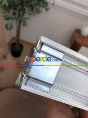 Salon Zebra Perde - Yüksek Kalite Düz Zebra Perde - Ekru Renk- Ekru