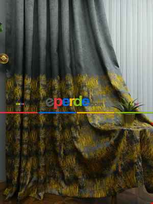 Hardal Jakar Fon Perde (180)- Hardal