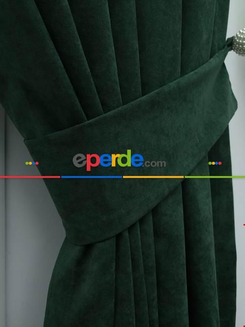 Yeşil - Düz Fon Perde (180)