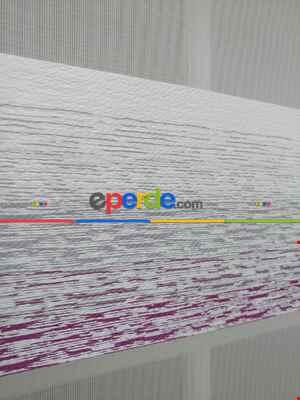 Salon Zebra Perde - Renk Geçişli Degrade Detaylı Zebra Perde 2021 Elit- Gri Açık