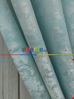 Açık Mavi Renk Jakar Desenli Fon Perde- Mavi Açık-mavi Grimsi Mavi