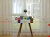 Çift Renkli Nakış İşlemeli Kortlu Tül Perde