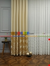 Modern Pano Fon Perde Bantlı Çift Renk -502