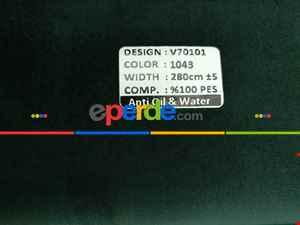 Salon Fon Perde - Orjinal Örme İpek Kadife (ithal)-  Çok Renkli 3