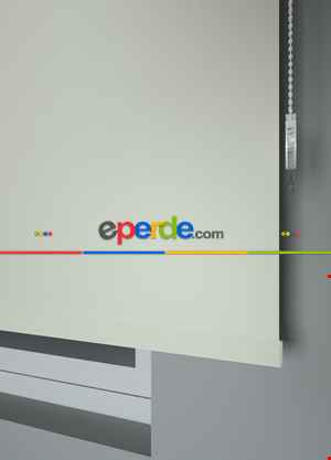 Ekru Düz Yıkanabilir Polyester 1.kalite Stor Perde