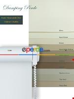 Düz Stor Perde Beyaz - Gri - Siyah- Siyah-gri-füme-antrasit-beyaz Yeşil - Kahverengi - Krem - Ekru