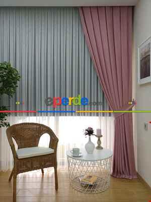 Soft Pembe Fon Perde (180)- Pembe