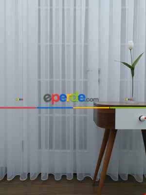 Salon Tül Perde - Perdeks Home Tül Perde 06 Lux Series- Ekru