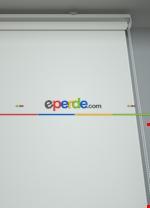 Ekru Düz Yıkanabilir Polyester 1.kalite Stor Perde Beyaz