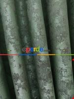 Açık Mavi Renk Jakar Desenli Fon Perde- Mavi Açık-mavi Grimsi Yeşil