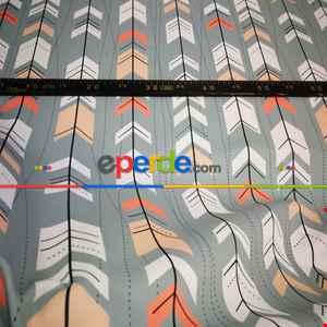 Pop Art Fon Perde K395 P - Kumaşı Kalındır Duck Bezi Değildir.- Beyaz-Bej-Pembe-Çok Renkli-Gül Pembe