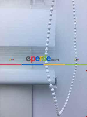 Düz Zebra Perde - Beyaz 427-13- Beyaz