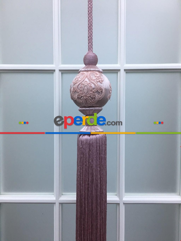 Perde Sarkıtı - Pembe Renk