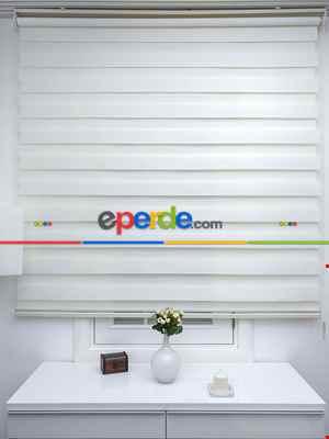 Salon Zebra - Rakipsiz Fiyat Son İndirim!!!İndirimli!!! Zebra Perde Ekru Bambu Ozel Fiyat- Krem Açık