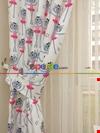 Kız Bebek & Çocuk Odası Kedi Fon Perde Modelleri