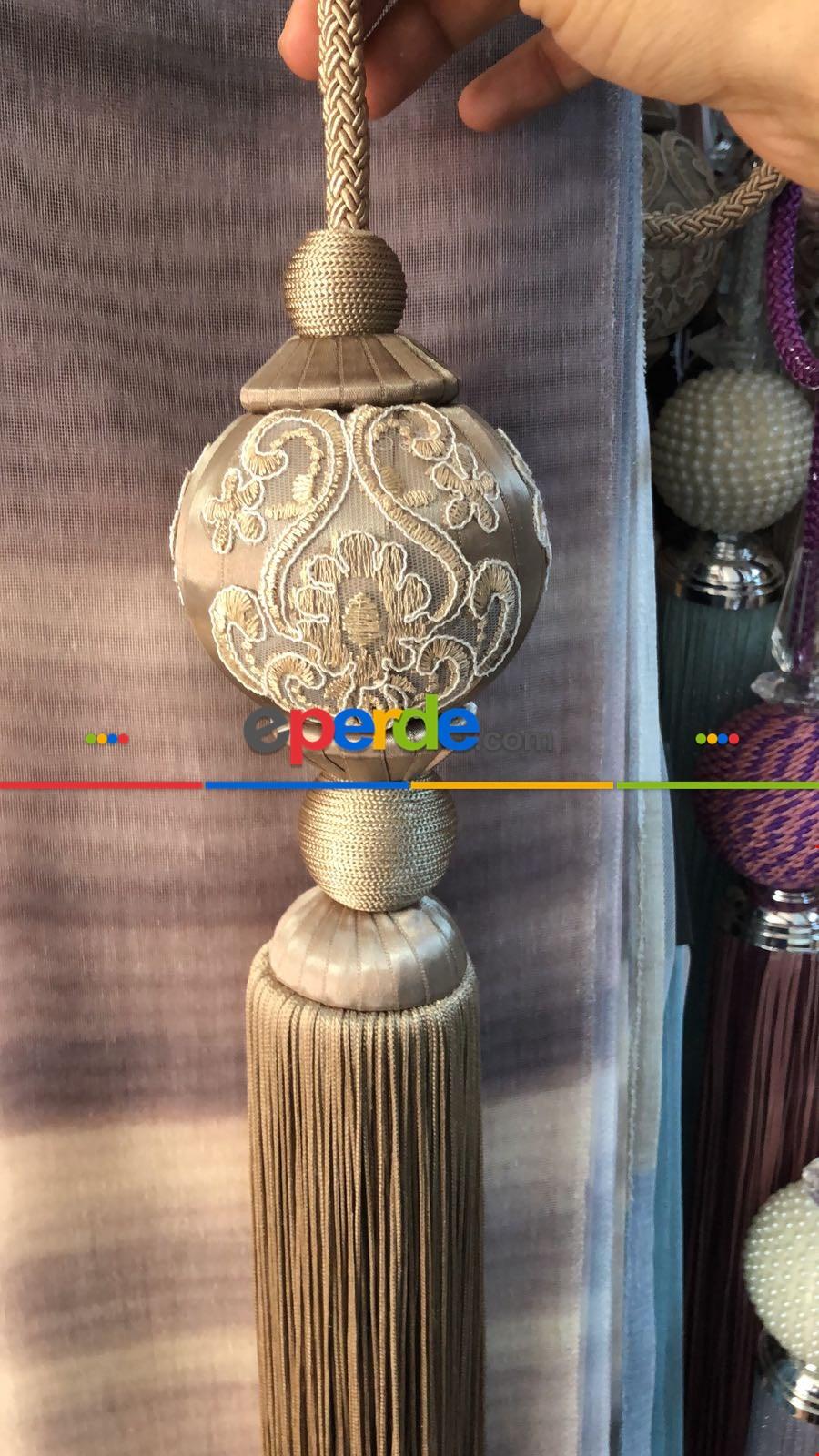 Perde Sarkıtı - Kapiçino Renk