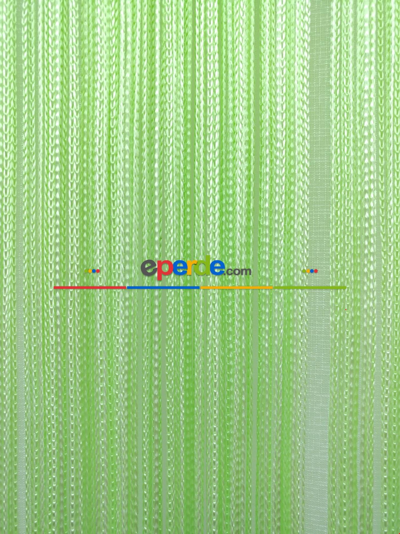 Açık Yeşil İp Perde