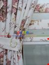 80x200 Güllü Çiçekli (zebra Perde)- Plant 80cm X 200cm