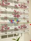 Zebra Perde - Çiçek Baskılı Çocuk Ve Genç Odası