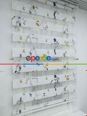 Çocuk Odası Çocuk Zebra Perde - Taraftar Perde- Diğer