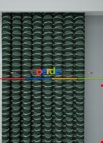 Koyu Vizon Modern Desenli Baskılı Fon Perde Geniş En 1. Kalite Çok Dökümlü Yeşil
