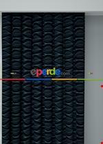 Koyu Vizon Modern Desenli Baskılı Fon Perde Geniş En 1. Kalite Çok Dökümlü Siyah - Mavi